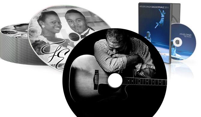 Stampa su cd e dvd